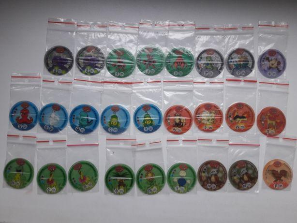Pokemon tazo zagraniczne,1, 2, 3, Flippo, Trio, Flippo Surprise