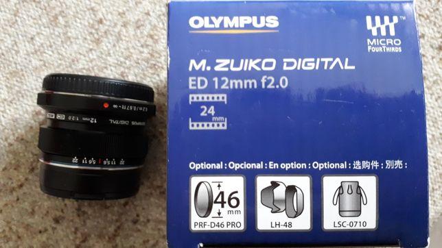 Olympus obiektyw nowy 12mm 2.0