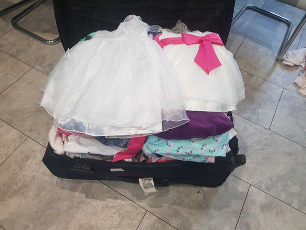 Paka ubran dla dziewczynki od 62-80
