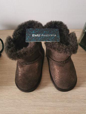 Emu buty sniegowce 12-18 miesiecy brazowe