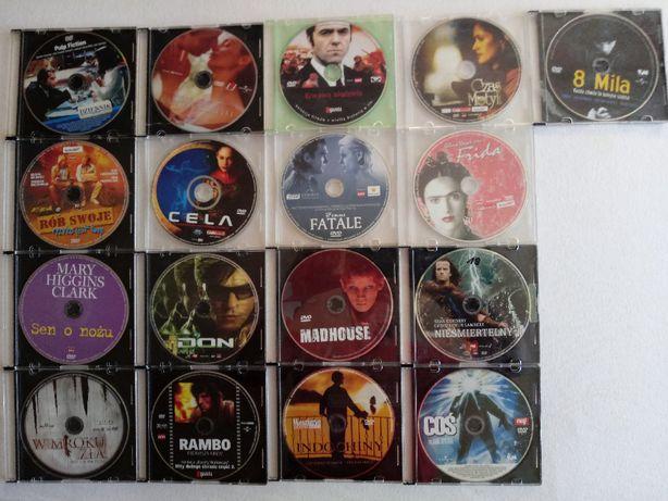 Filmy DVD 17 sztuk. Zestaw.