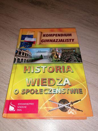 """Kompendium gimnazjalisty. PWN """"Historia. Wiedza o społeczeństwie"""""""