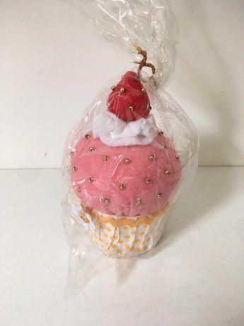 Almofada para Alfinetes (Cupcake)