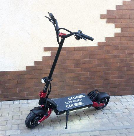Полноприводный электросамокат City Rider Lite 2400W 25Ah