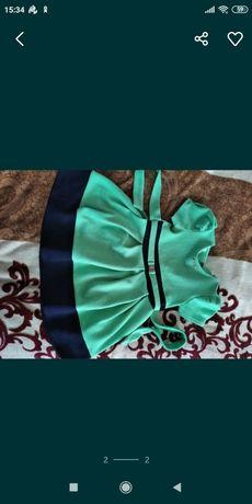 Платье на р110 см.