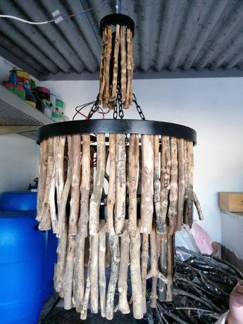 Candeeiros Artesanais de fita de led ou casquilho