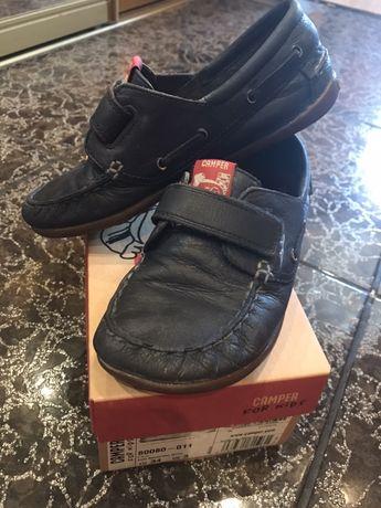 Мокасины, туфли на мальчика (Camper)34р.(22см)