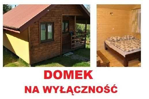 2-10.07** DOMEK Bieszczady noclegi domki letniskowe Polańczyk Solina