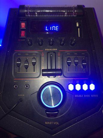 Głośniki 2x MANTA SPK5034! BASS! LED!