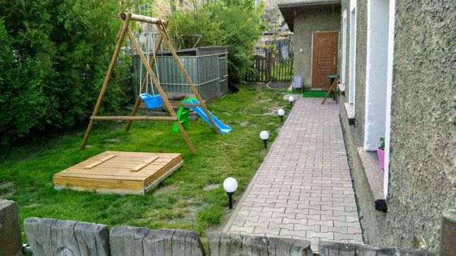 Duże mieszkanie, osobne wejście, 2 ogródki