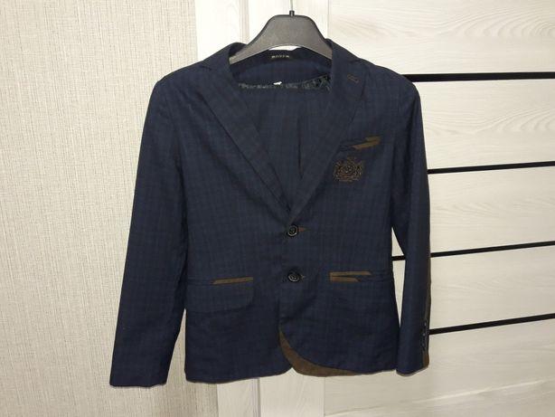 Школьный синий костюм