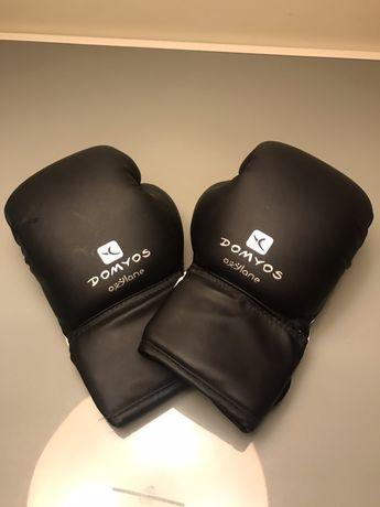 Luvas de boxe nunca usadas