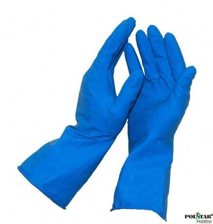 Rękawice gumowe gospodarcze,wielokrotnego użytku !