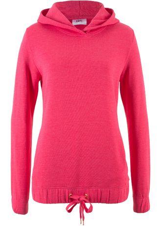 (35) Różowa bluzaz kapturem 40-42 NOWA