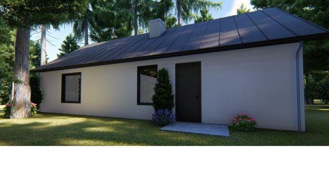 dom w cenie mieszkania plus 5 ar działki
