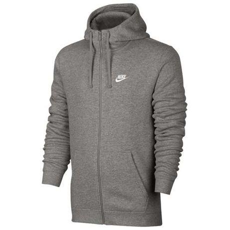 NIKE Bluza Bawełniana Sportswear Hoodie - rozmiar XS szara, XL granat