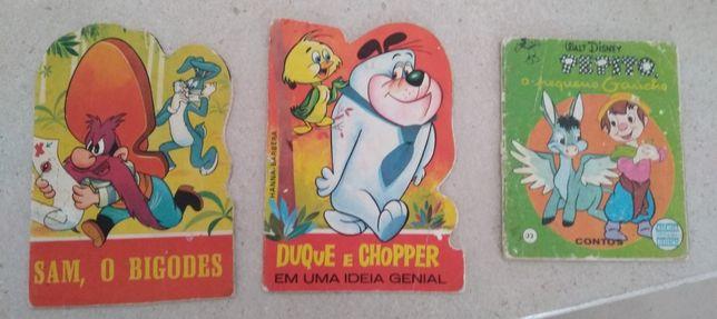 3 Livros infantis da década de 60