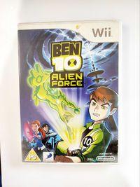 Ben 10 alien Force nintendo Wii