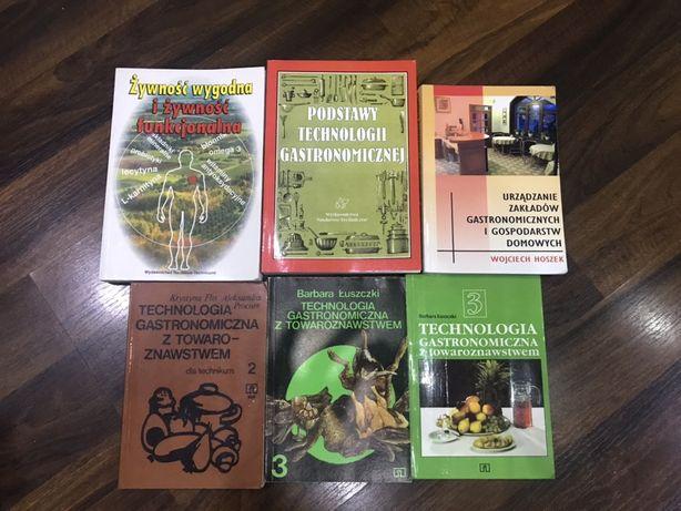 Książki do technologi żywnosci z towaroznastwem  6 szt