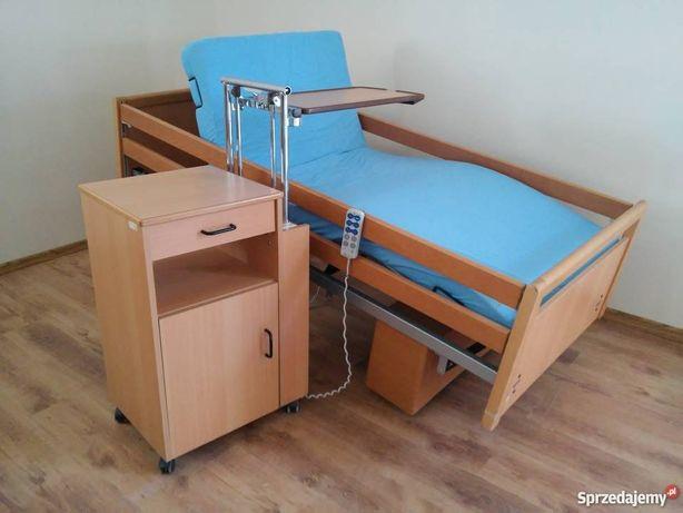 Łóżko rehabilitacyjne domowe ładne na pilota dowóz