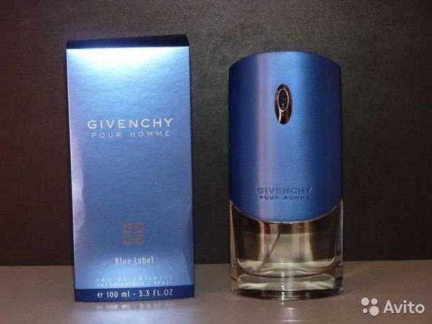 Туалетная вода Givenchy Blue Label Pour Homme,100 мл. ОРИГИНАЛ!
