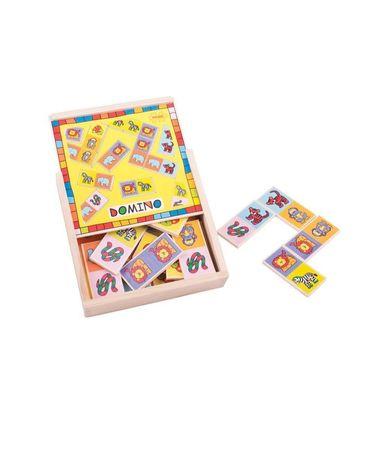 Домино деревянное Domino  Bigjigs Toys