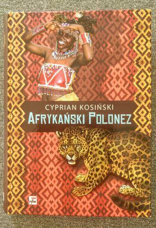 """Książka """"Afrykański polonez"""" Cyprian Kosiński"""