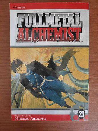 Manga Fullmetal Alchemist 23 Inglês