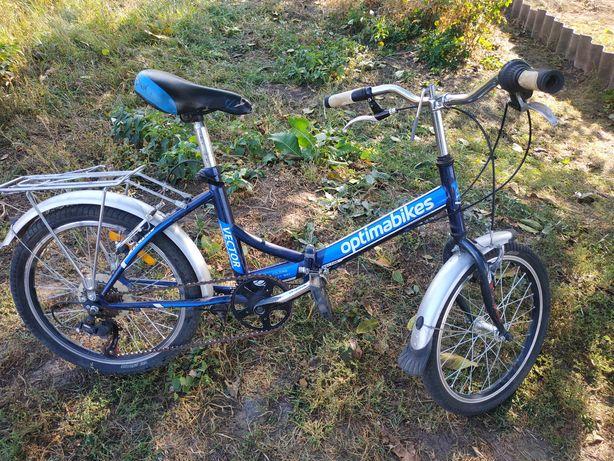 Велосипед  оптимо-байк складывается в двое