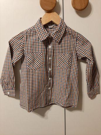 Elegancka koszula z długim rękawem r. 110