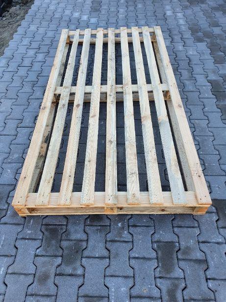 Palety drewniane 2400 x 1200 mm, używana