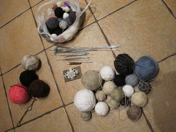 Zestaw do robienia na drutach