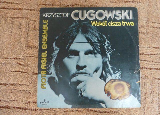 """Płyta winylowa Krzysztof Cugowski """"Wokół cisza trwa"""""""