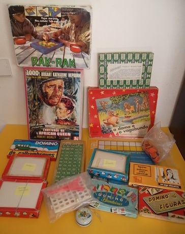 Lote de jogos antigos, completos
