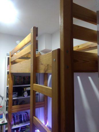 Łóżko piętrowe robione na wymiar