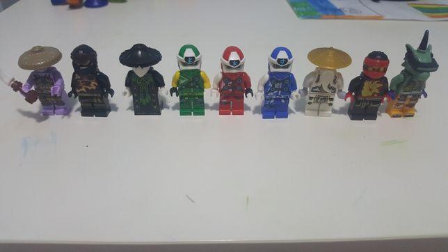 Figurki lego ninjago Sesei WU Llouy Jay Kai
