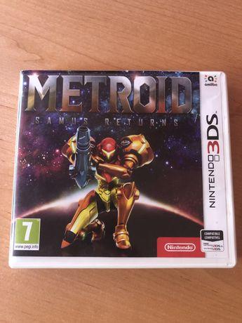 Metroid Samus Returns (3DS) usado