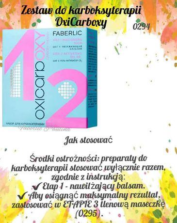 Zestaw do karboksyterapii OxiCarboxy  Faberlic Krok 1,2,3