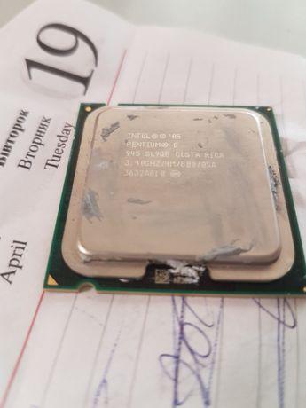 Intel Pentium D 945 Presler (3400MHz, LGA775, L2 4096Kb, 800MHz)