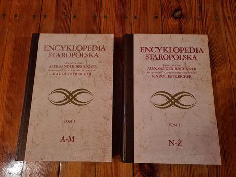 Encyklopedia Staropolska - 2 tomy - Aleksander Bruckner