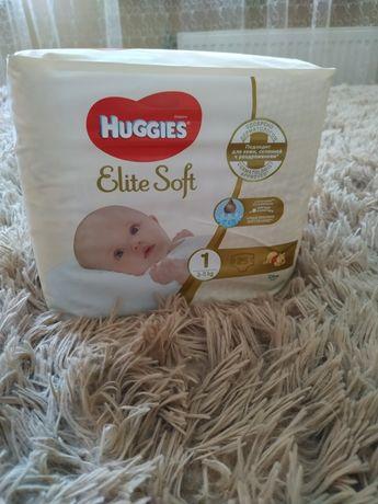 Продам Памперсы детские фирмы Huggies elit soft 2 и 1