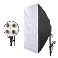 Постоянный студийный свет 50/70 на 4 лампы+стойка 2.4мSoftBox СофтБокс