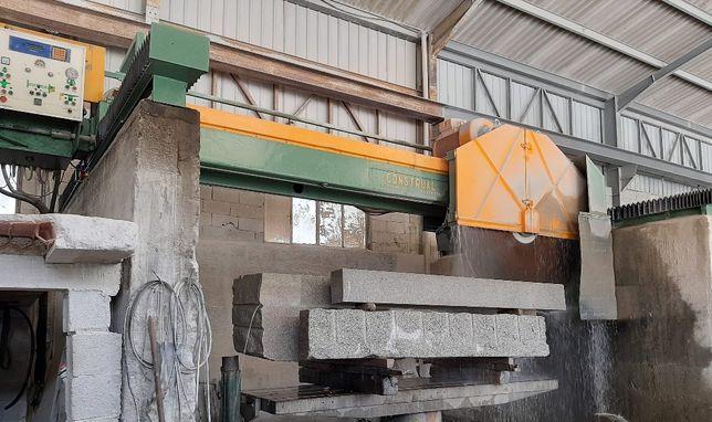 Máquina Construal disco 2100mm (talha blocos de granito e mármore)