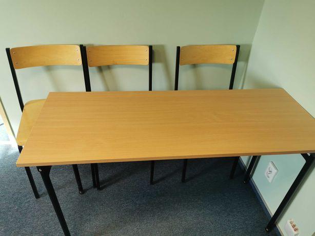 Ławki szkolne + krzesła