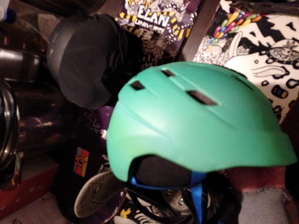 Kask Crivit S 54 56 narciarski snowboardowy zielony