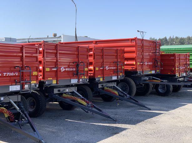 Przyczep Metal Fach T710 6,8,10,12 ton Negocjuj Cenę Dotacje!