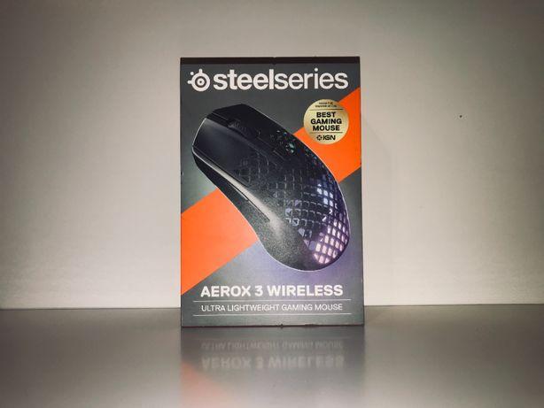 Myszka bezprzewodowa SteelSeries AEROX 3 WIRELESS sensor optyczny