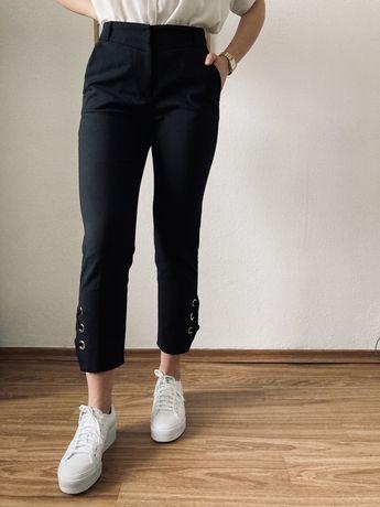 Czarne cygaretki spodnie Simple S