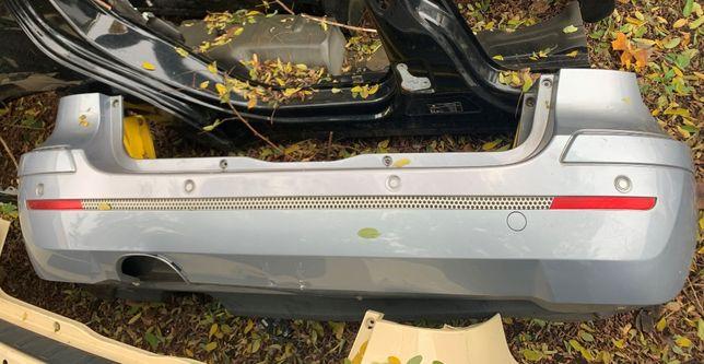 Mercedes b klasa w245 zderzak tył tylni chrom pod czujniki niebieski