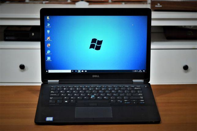 Laptop Poleasingowy Dell E7470|i5-6Gen|8GB DDR4|256GB|1920x1080|P-W10